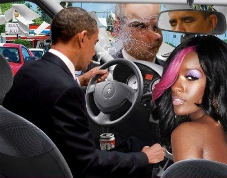 Как жабят Обаму в Америке