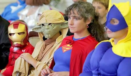 Супергеройское бракосочетание