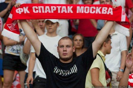 Обычный матч Спартак-ЦСКА  в Лужниках