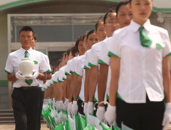 Экологичное захоронение на китайском кладбище