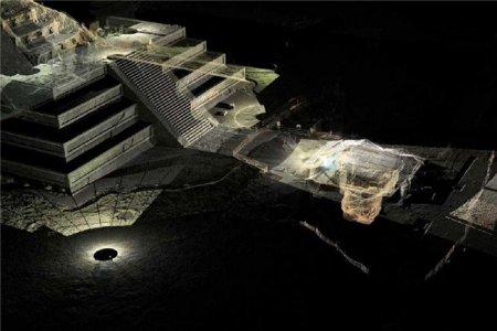 Найден вход в подземелья Цитадели Теотиуакана
