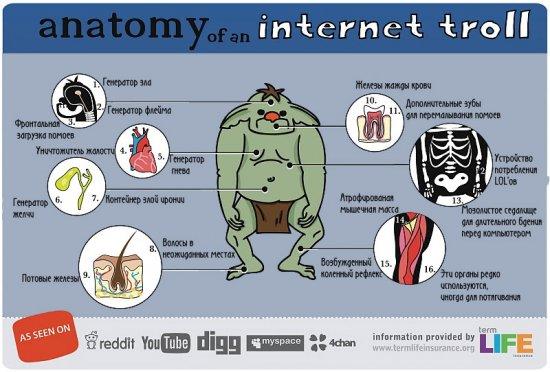 Анатомия интернет-тролля