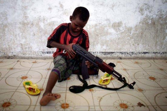 Сомалийские дети-солдаты