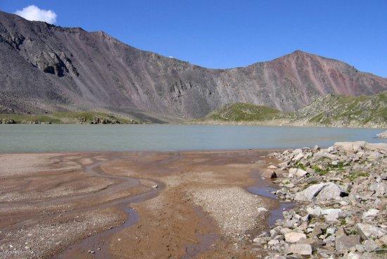 Озеро Сылтранкель на Кавказе