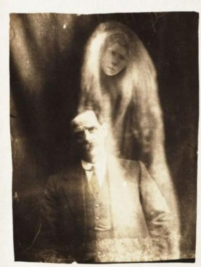 Фото с привидениями