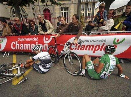 Tour de France - это веселло, но больно