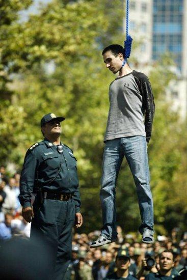 Публичная казнь в Иране