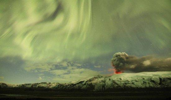 Полярные сияния – последствия геомагнитных бурь