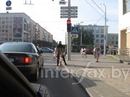 Столичные дороги бороздит «велокарлсон»