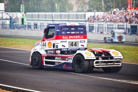 Фоторепортаж с российского этапа Чемпионата Европы по гонкам грузовиков