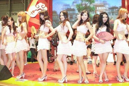 Девушки с ChinaJoy 2010