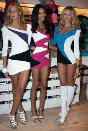 Candice Swanpoel и её подружки