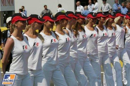 Девушки Formula 1