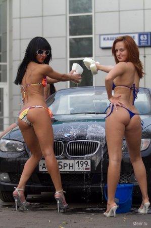 Как моют в Москве