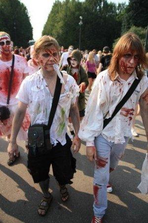ZombieWalk 2010 в Питере