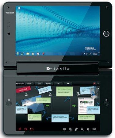 Двухэкранный мини-ноутбук Toshiba Libretto вышел за пределы Японии