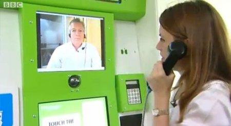 В Великобритании заработала сеть автоматических «аптек», с поддержкой видео-связи с личным врачом