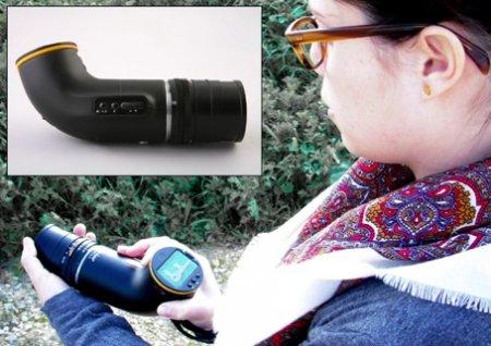 Изогнутый фотоаппарат