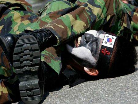 Южная Корея дружно боится Северной Кореи!