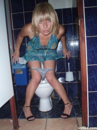 Туалетный гламур