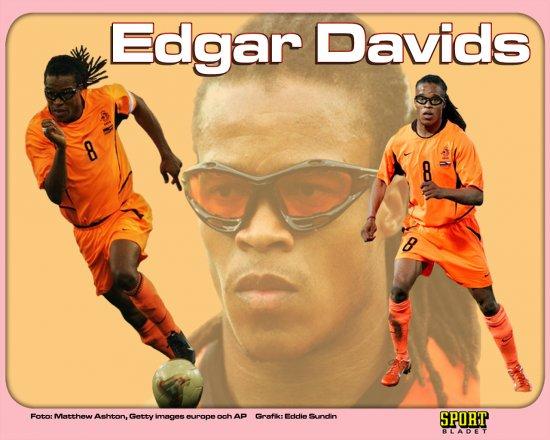 Эдгар Давидс вернулся в большой футбол