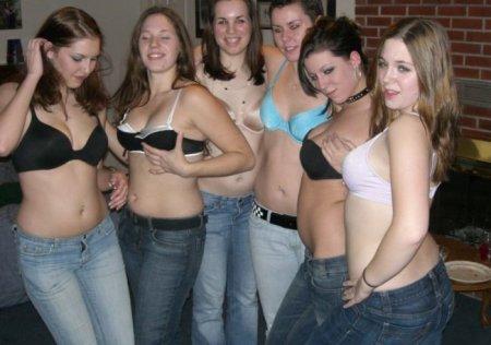 Девушки идут в отрыв!