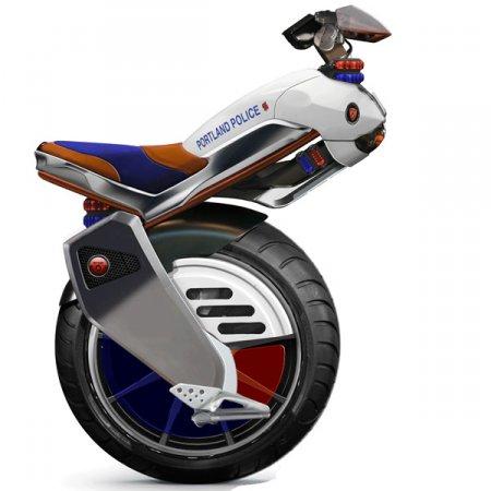 Ryno - рабочий портотип одноколёсного мотоцикла