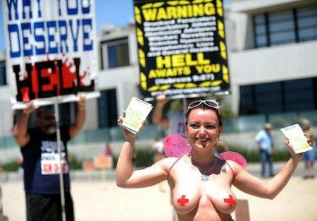 70 Американцы пытаются уравнять мужскую грудь и женскую!