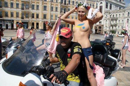 Украина, Фемен, День Независимости