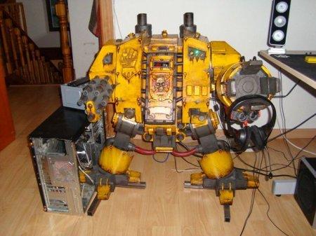 Компьютер в стиле Warhammer 40K