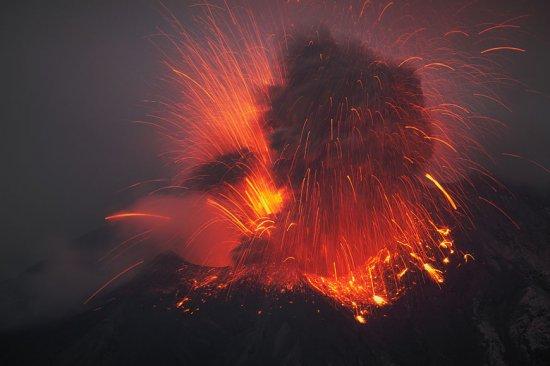 Красота вулканов