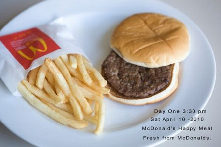 137 дней гамбургеру