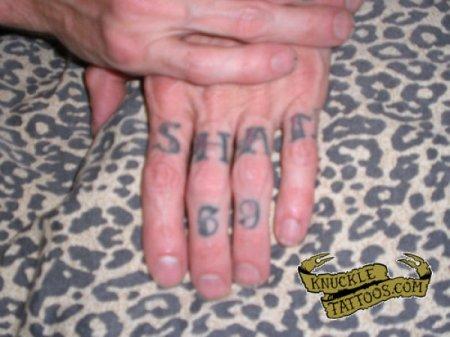 Тату на кулаках