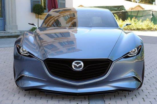Новый дизайн Mazda