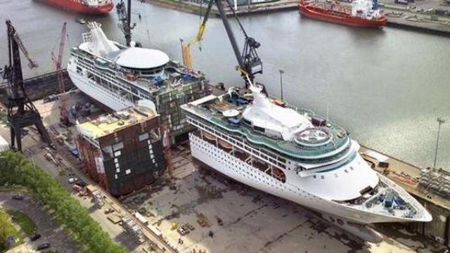 Как увеличить корабль