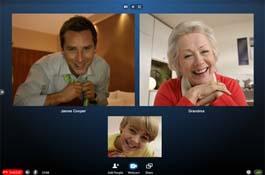 Skype разрешил видеозвонки с десятью участниками