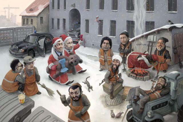 Необычные иллюстрации русских художников