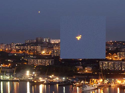 НЛО над Владивостоком