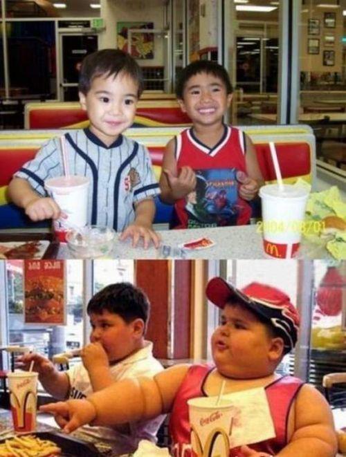Толстые и тонкие - познается в сравнении