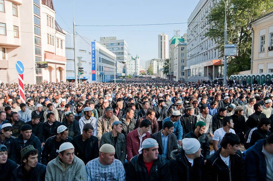 Ураза-байрам в Москве
