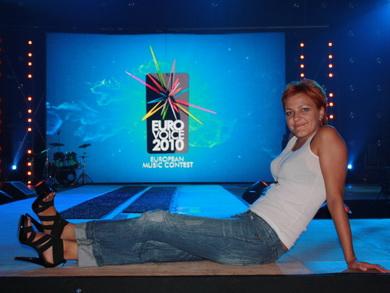 Белорусская певица Берта заняла 5 место в конкурсе Eurovoice