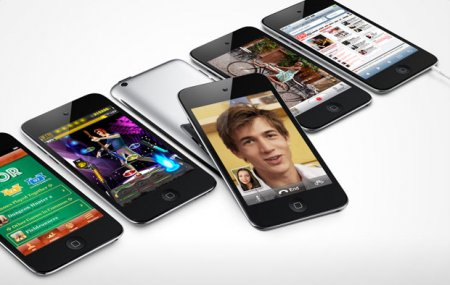 Apple ������������ ����� iPod touch: ��������� A4, Retina Display, ��� ������
