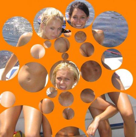 Пузырьковый фильтр делает девушек голыми