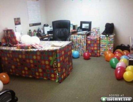 Офисные шуточки
