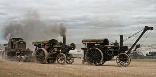 Выставка паровых машин