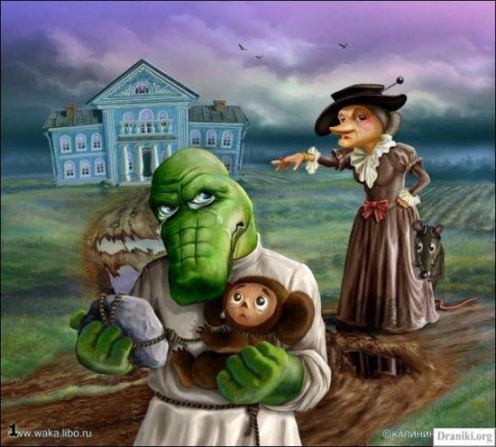 Неизвестные истории про Чебурашку и крокодила Гену