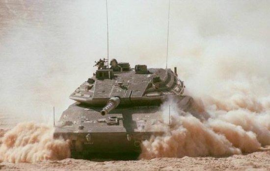 Израильский танк Меркава Мк4 признан лучшим