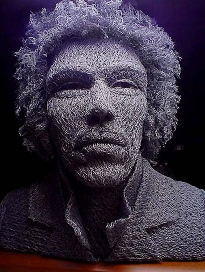 Скульптуры из проволоки