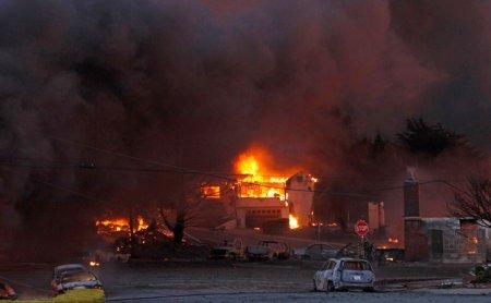 Взрыв газопровода в Калифорнии