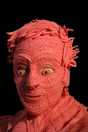 Скульптуры из жвачек